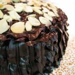 Callebaut Chocolate Ganache Cake from Dulcelin