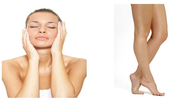 Get Rid of Old Scars on Legs and Face