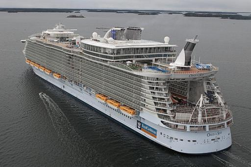 Largest Cruise Ship - Oasis of the Sea
