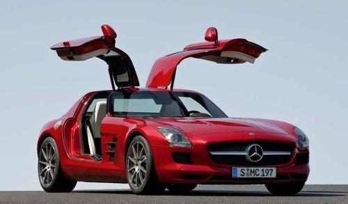 Mercedes benz sls amg gullwing