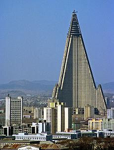 ryugyong hotel in north korea - One of the Ugliest Hotel