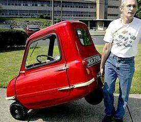 Peel P50 Smallest car in the world