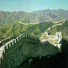great wall of china length and width