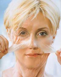 preventing wrinkles on face