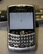 Removing Scratches from BlackBerry Screen Phone