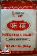 Monosodium Glutamate Prevention