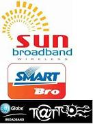 Smart Bro vs Globe Tattoo vs Sun Broadband