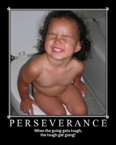 a child having constipation