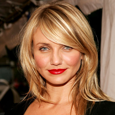 Current Hairstyles latest womens hairstyles form long hair names medium length for round faces short layers updos over 50 2013 Cameron Diaz Long Hairstyle For Instance Is Another Option That Women May Want To Wear