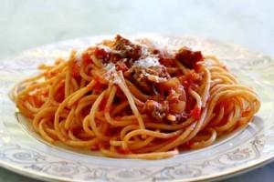 delicious newly cook spaghetti