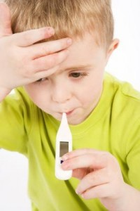 high fever in toddlers treatment