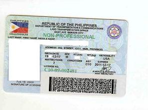 how to get driver's license in the philippines