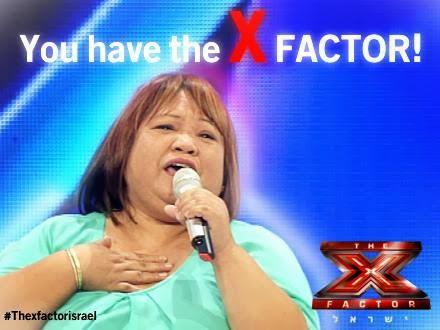 Filipina X Factor Israel rose osang fostanes