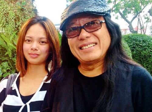 freddie aguilar and 16-year old girlfriend got married